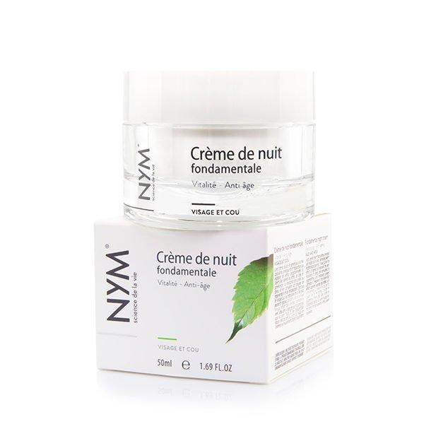 Crème de nuit Fondamentale 2% pot et étui 50 ml