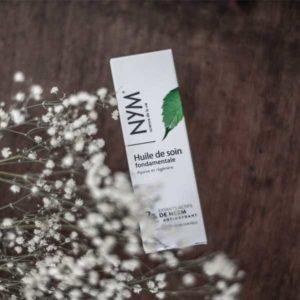 huile de soin fondamentale NYM 50ml 2% blanc