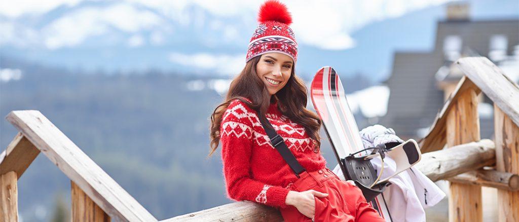 une bonne crème solaire au ski