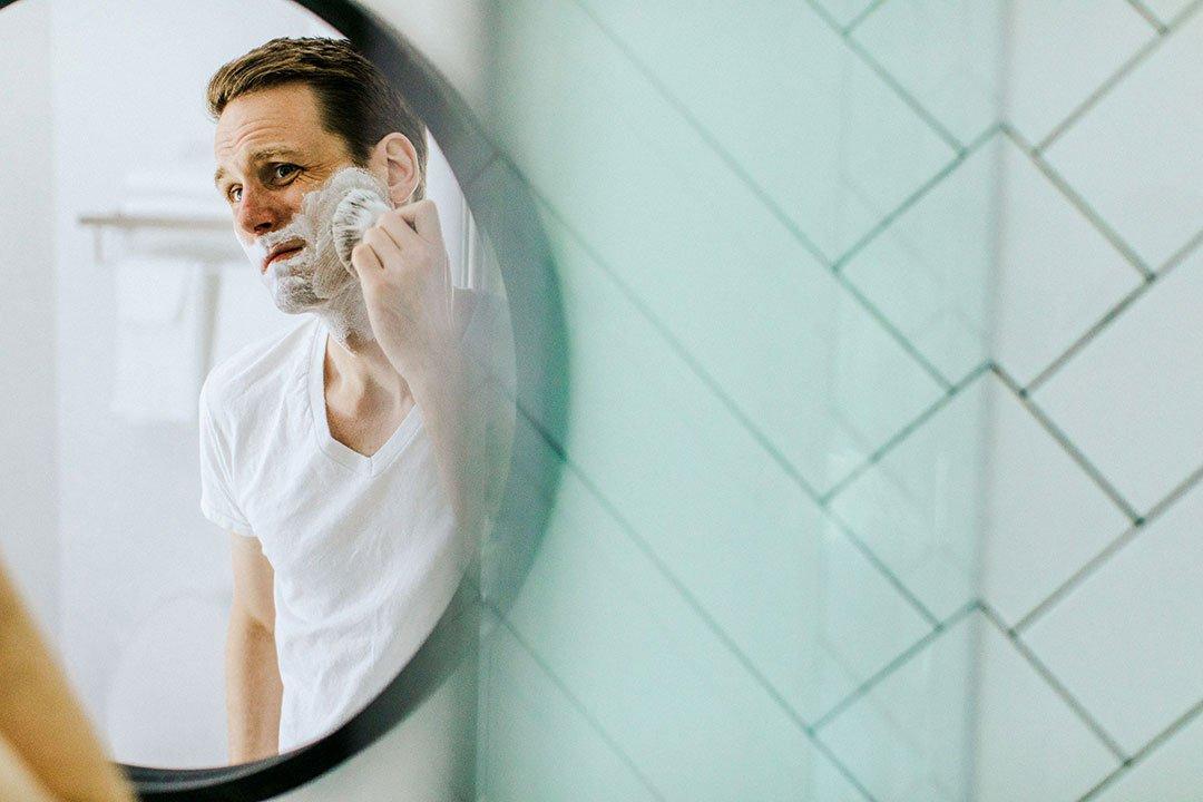 bien appliquer la mousse à raser