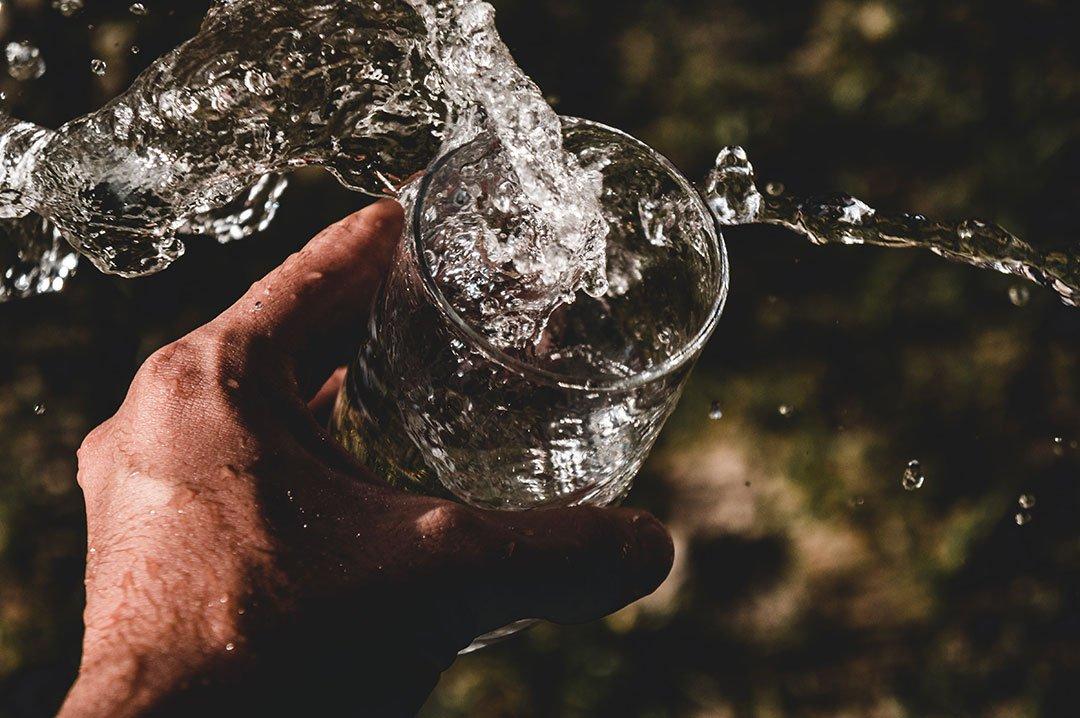 Boire 2 litres d'eau par jour