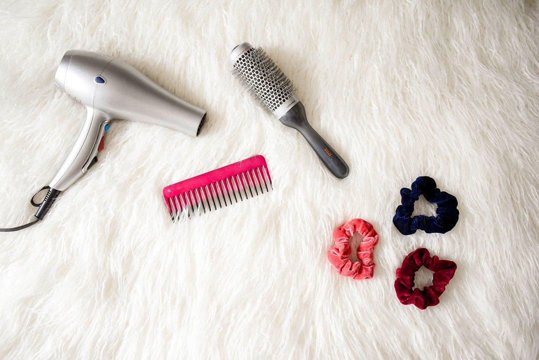 accessoires pour un bon brushing