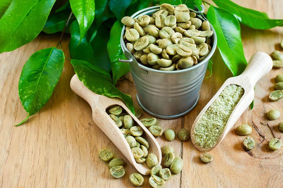 Le café vert dans la composition d'un produit de la gamme NYM