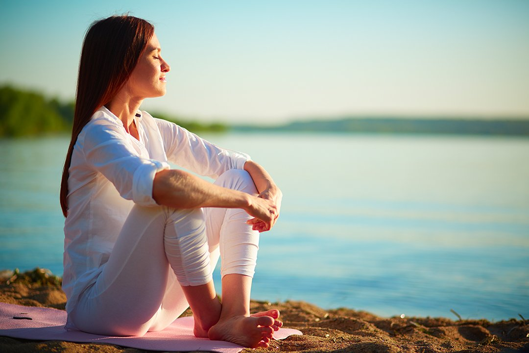 massage du ventre pour la relaxation