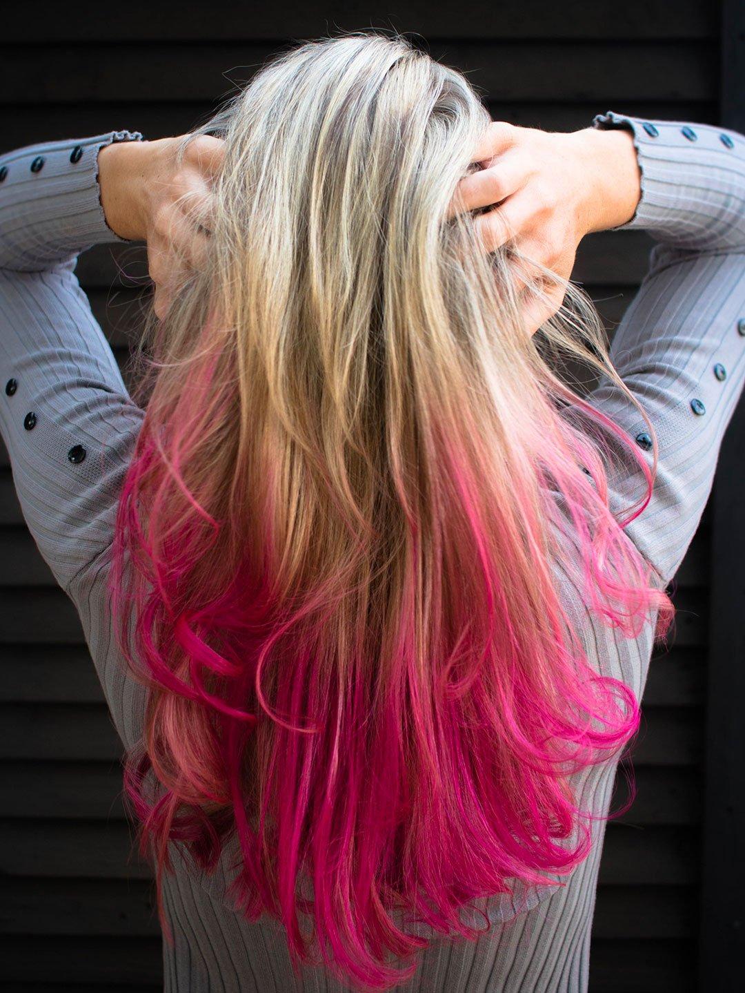 Sécher ses cheveux colorés naturellement